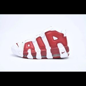 Air More Uptempo Gym Red